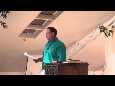 Tabernacles 2012  John Pogue  Facing our Fears