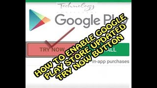 How To Enable Google Play Store Try Now Button || Google Play Store New Feature