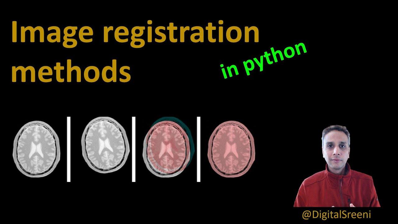 Image Registration Methods in Python