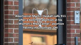 Botched Abortion at Cincinnati Abortion Clinic - 911 Call