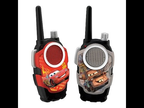 Juguetes disney pixar cars 2 walkie talkies youtube - Juguetes disney cars ...