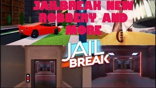 Jailbreak SWORDS UPDATE (Roblox New Bank Blue Floor, Melee Weapon, Knock Down Streetlights)
