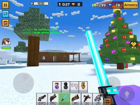 PIXEL GUN 3D DONT BANN ME FOR THIS! ITS A GLITCH I DID NOT MEAN TO DO