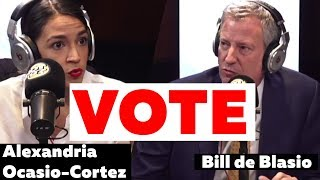 NYC Mayor Bill de Blasio, Candidate for Congress - Alexandria Ocasio-Cortez on HOT97