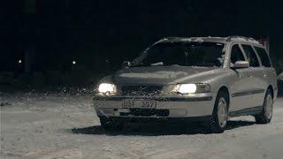 Extreme Volvo V70 in snow [2015]