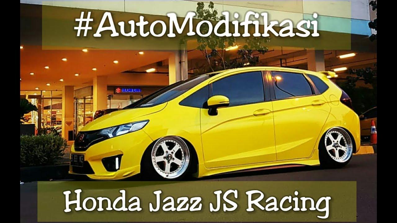 Honda Jazz Js Racing Modifikasi Mobil Honda Jazz Rs Konsep Js