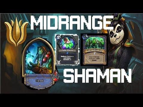 [Hearthstone] Shaman Deck : Midrange Jade Lotus