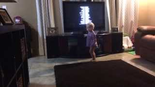 She just wont stop dancing