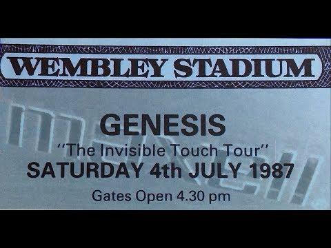 1987 Live Concert Abacab/Mama Genesis  Wembley Stadium  reel to reel tape