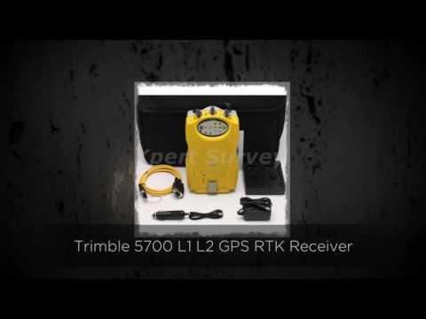 Trimble 5700 L1 L2 GPS RTK Receiver