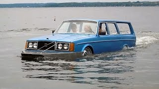 THEONOMICS Evolvo, The Amphibious Car: Maiden Voyage