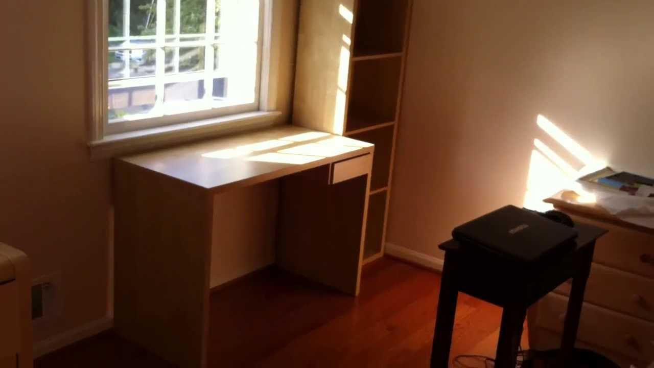 Ikea Lasse Desk Assembly Service Video In DC MD VA By Furniture Assembly  Experts LLC