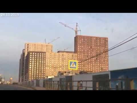 ЖК Белая Дача Парк Ход строительства на 24.11.2019