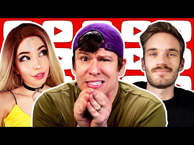 Banned From Youtube! Belle Delphine Outrage, PewDiePie, AOC, Trump Impeached Again, & More News
