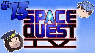 Space Quest IV: Back in Time - PART 13 - Steam Train