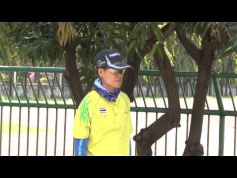 ความพร้อมนักกีฬา เปตองทีมชาติไทย SEA GAMES 2015
