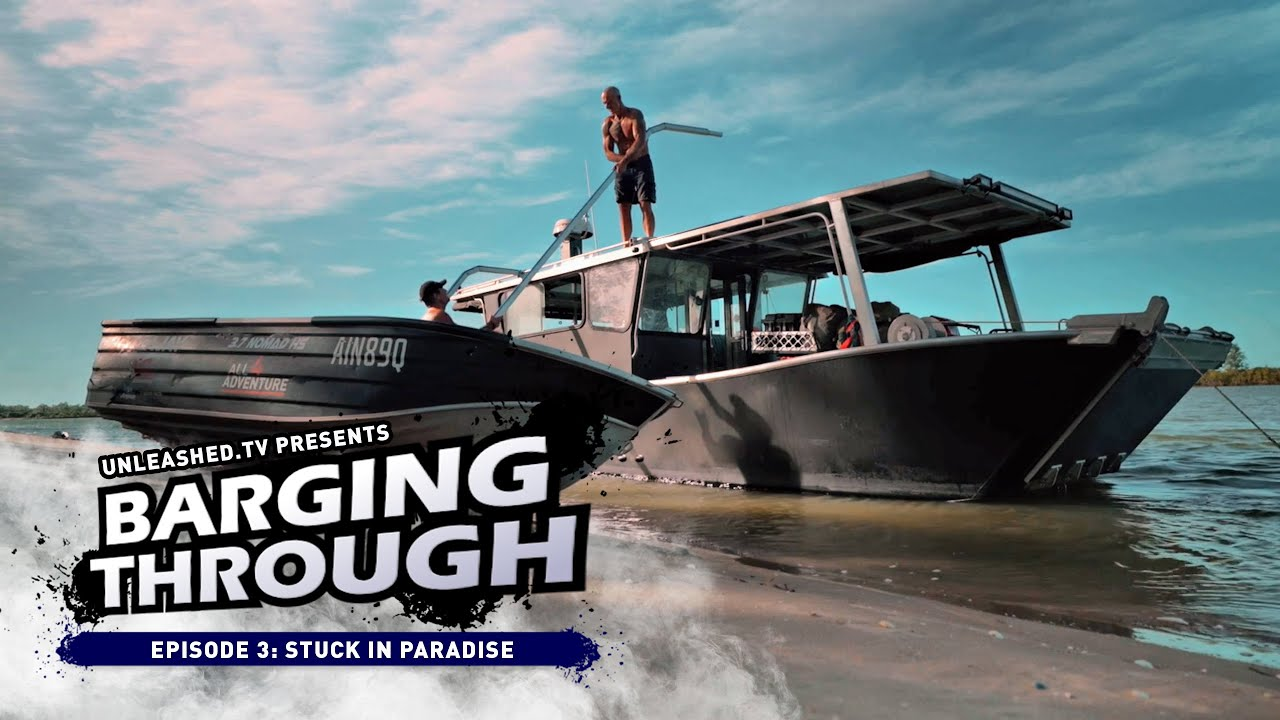 🔥 UNLOCKED: First 5 mins of our MONSTER BARGE'S Australian adventure (Episode 3)!