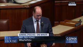 Rep. Yoho remembers Mr. Donald Louis Crutch
