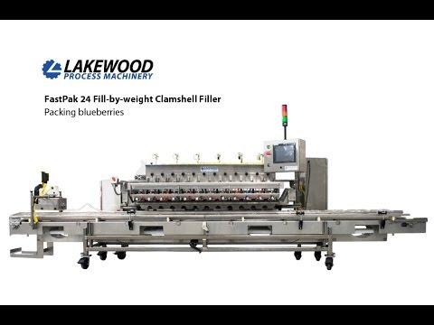 Lakewood Process Machinery FastPak 24 / Blueberries