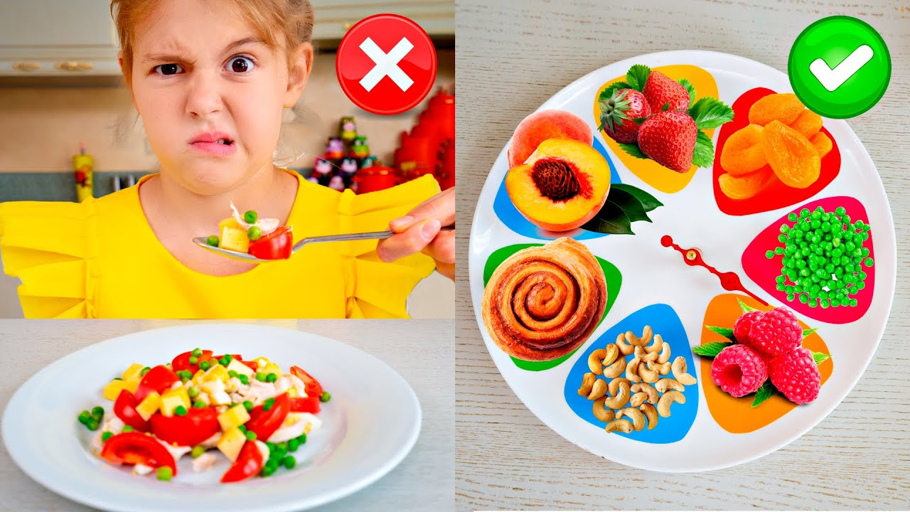 Five Kids Don't want to Eat + more Children's Songs and Videos