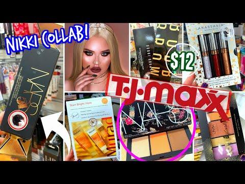 HEAVEN At TJ MAXX   NIKKI TUTORIALS X OFRA, NARS HOLIDAY, ABH, MAC & MORE!!