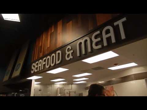 Seafood and meat area at Fry's in Apache Junction