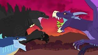 Godzilla vs Zilla Jr : The Final Battle (part 3/3)   Godzilla vs Gryphon   DinoMania