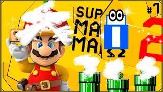 Super Mario Maker 2 #7 - Zamek bez piranii X -x-{X