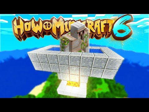 You NEED An Iron Golem Farm In Minecraft - How To Minecraft 1.14 SMP #13 | JeromeASF