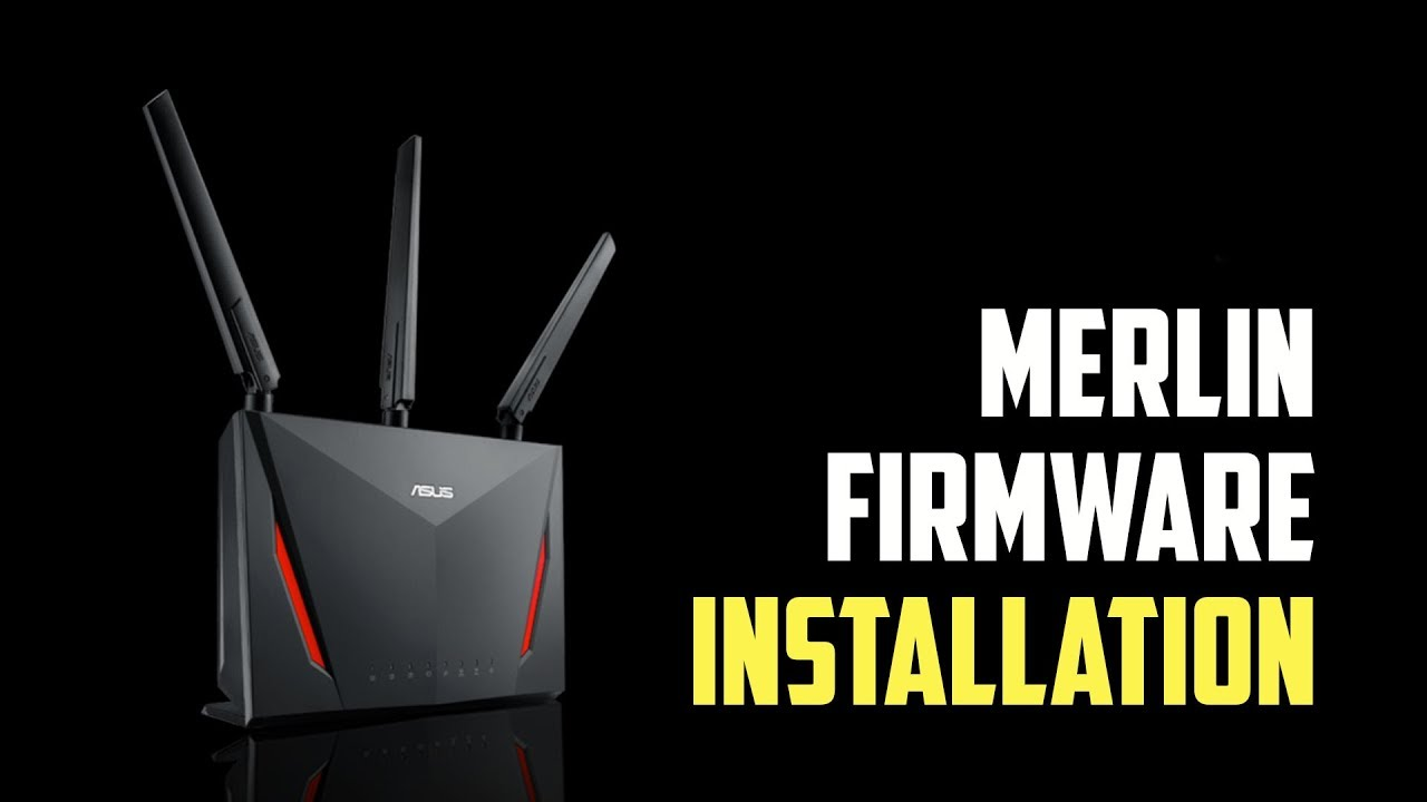 How to install Asus Merlin Firmware?