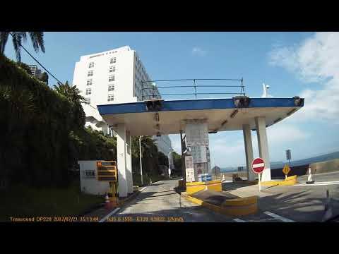 Driving Japanese road    - sea side Atami to mountain Hakone - 熱海から箱根までドライブ