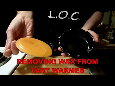 Removing Wax From Tart Warmer