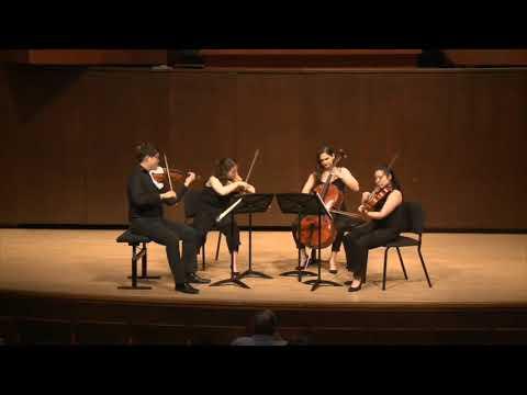 Haydn String Quartet Op.20 No.5 in f minor - Juilliard Quartet Seminar
