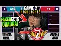 KT vs SKT Game 2 Highlights 🔥FAKER IS BACK🔥 KT Rolster vs SKT T1 Game 2 Highlights LCK Spring W5D1