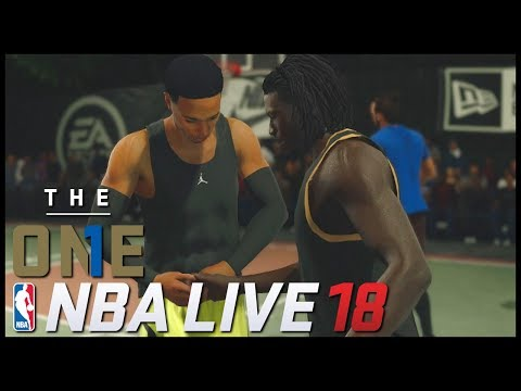 NBA LIVE 18 | The One - 'FIRST GAME!' | #01