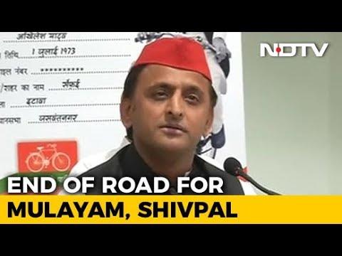 Akhilesh Yadav Re-Elected Samajwadi Party National Chief For 5-Year Term