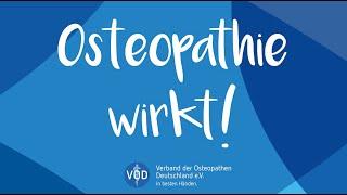Osteopathie wirkt!