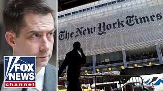 New York Times issues apology for running Sen Cotton's op-ed after backlash