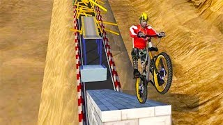 AEN Downhill Mountain Biking ▶️Android GamePlay HD | New Android Games 2017 | TrimcoGames