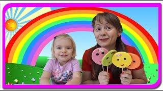 Acadele colorate! Cantecul culorilor cu Anabella Show