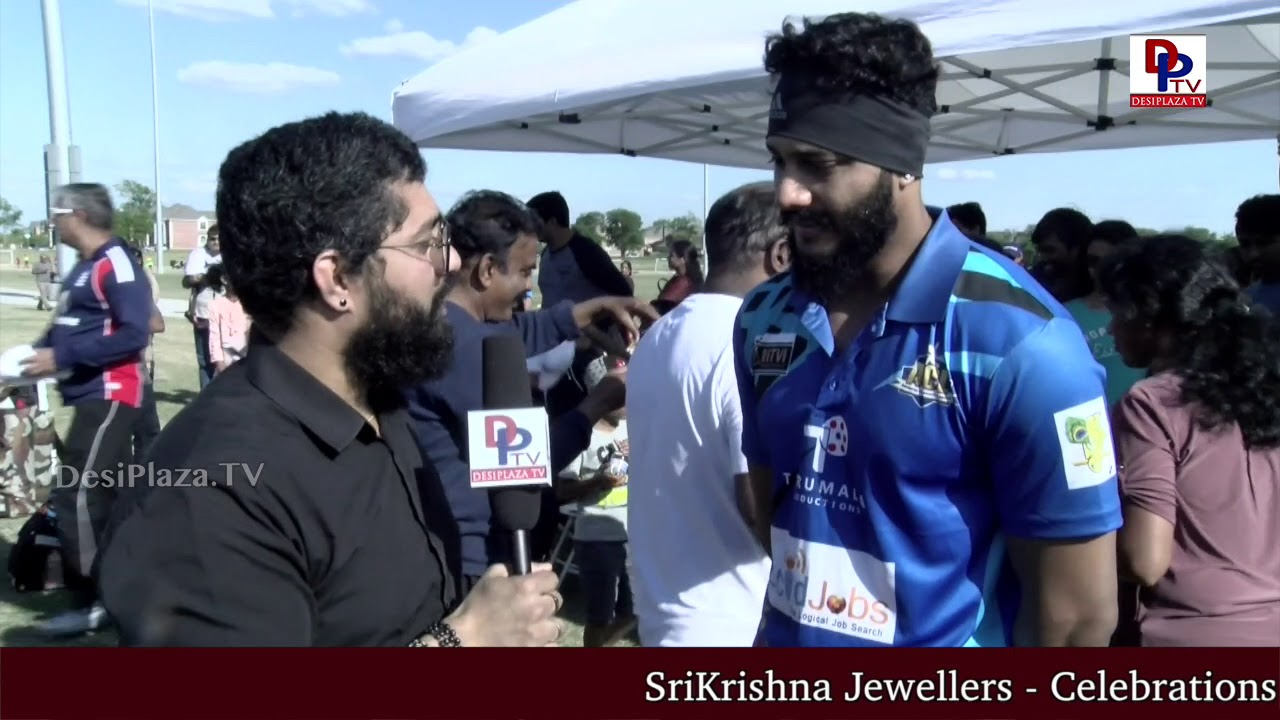 Bigg Boss Contestant Hero Prince at Film Actors Cricket in Dallas, USA | DesiplazaTV