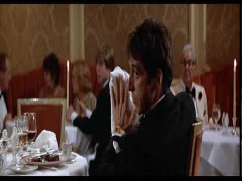 SCARFACE Scena del ristorante