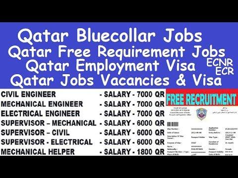 Qatar Bluecollar Jobs l Qatar Cleaning Jobs Salary l Qatar Employment Visa l Qatar Free Requirement