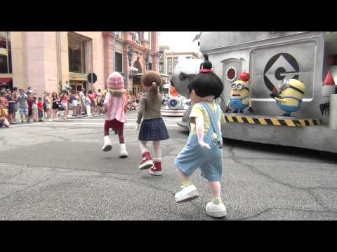 Universal's Superstar Parade at Universal Studios in Orlando Florida
