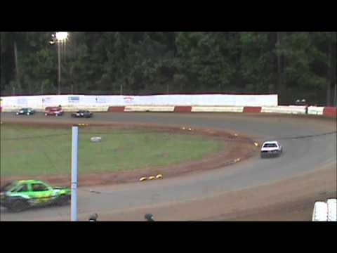 4 Cylinder racing at River City Speedway #9 6/16/12 (A Main)