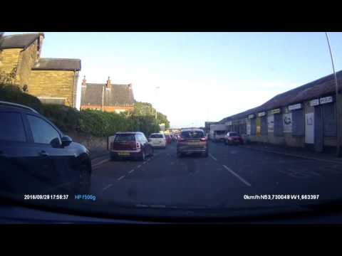 Review Of Hp Dash Cam F500g