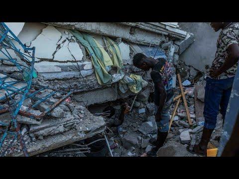 Haití: la ciudad de Les Cayes es la zona más afectada por el sismo de 7,2 grados