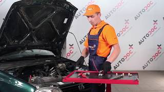 rear and front Windscreen washer motor installation VW GOLF: video manual