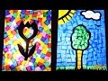 Stained Glass - Kids Crafts