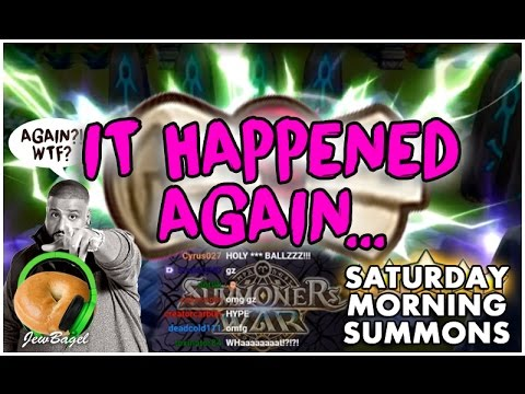 SUMMONERS WAR : Saturday Morning Summons LIVE - 1000+ Mystical & Legendary Scrolls - (3/18/17)